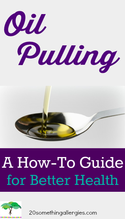 Learn how oil pulling can whiten your teeth, remove the bacteria that causes bad breath and infections, and detox all in 20 minutes a day.