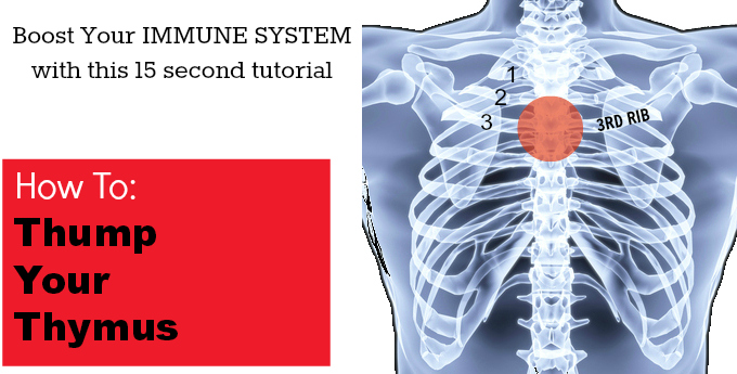 Boost Your Immune System in 15 Seconds: How To Thump Your Thymus
