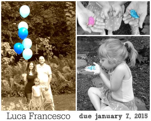 Baby Luca Announcement